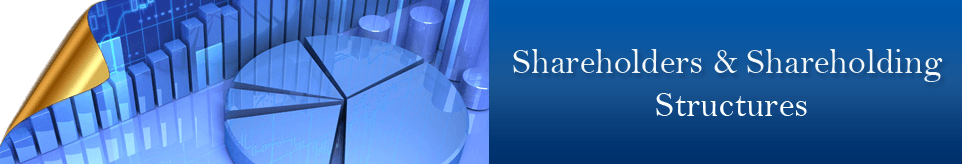 Shareholders & Shareholding Structures Banner